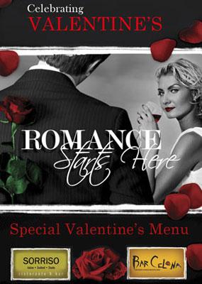 "Celebrating Valentines's ""Romance Starts Here"""