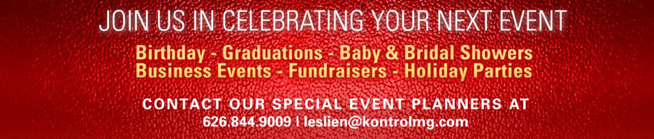 Join Us In Celebrating Your Next Event
